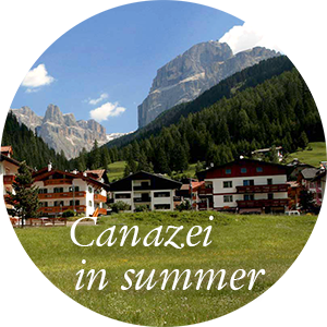 Canazei in summer