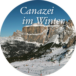 Canazei im Winter